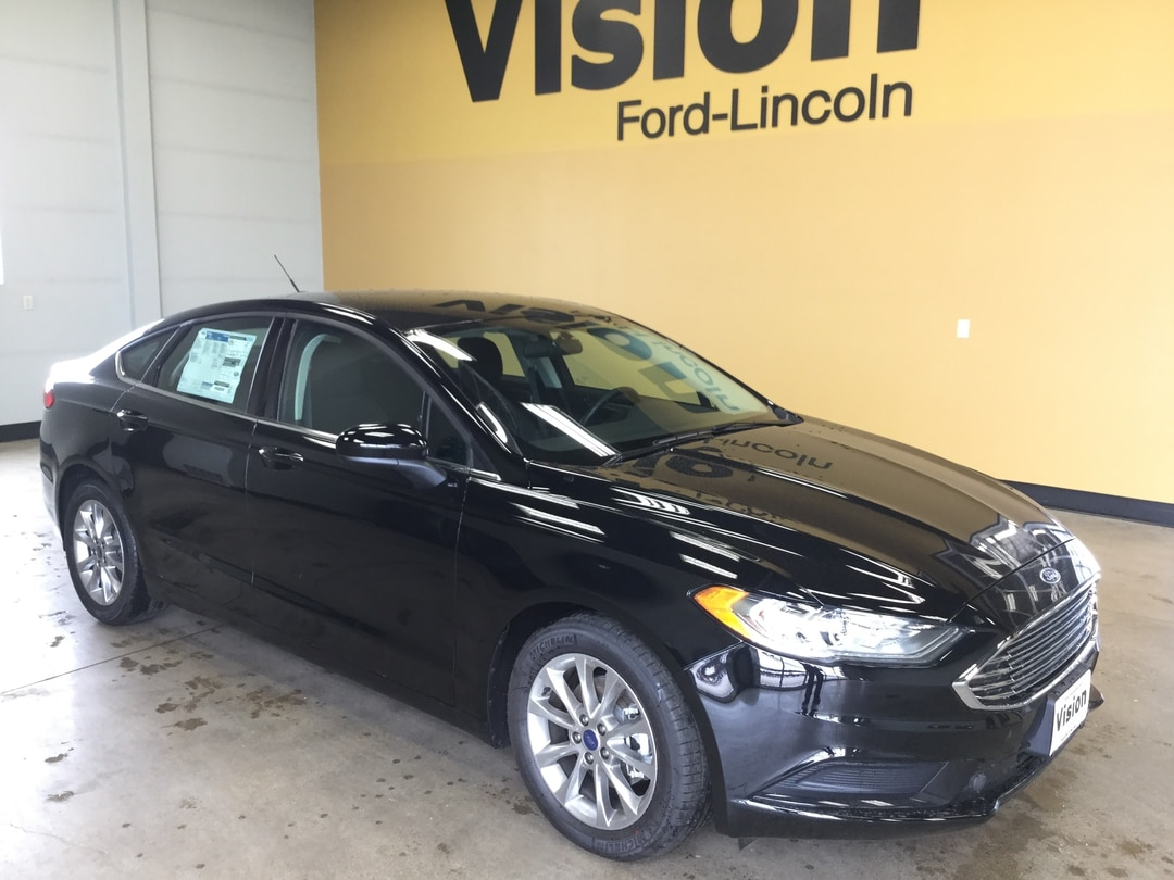 2017 Ford Fusion SE Front-wheel Drive Sedan