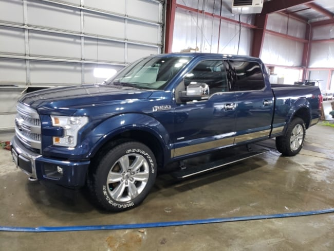 2017 Ford F-150 King Ranch 4x4 SuperCrew Cab Styleside 5.5 ft. box Truck SuperCrew Cab