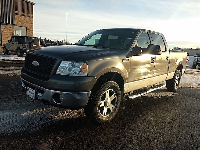 2006 Ford F-150 SuperCrew XLT 4x4 Styleside 5.5 ft. box 139 in. WB Truck SuperCrew Cab