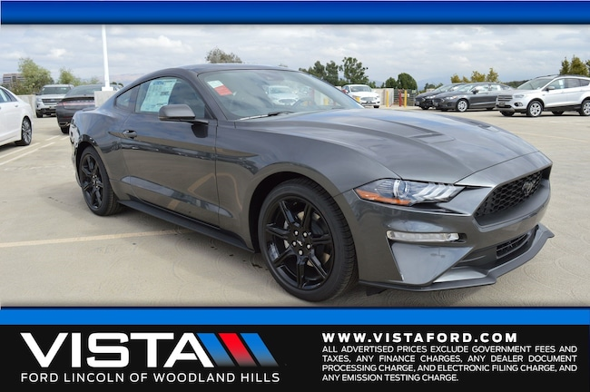 New 2019 Ford Mustang Ecoboost Premium Coupe in Woodland Hills, CA