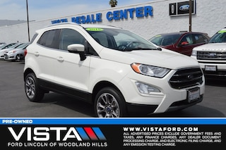Used 2018 Ford EcoSport Titanium SUV CL181152 for sale in Woodland Hills, CA
