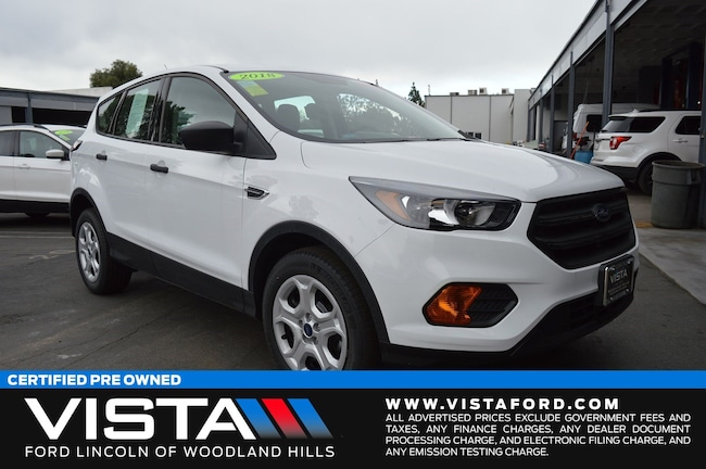 New 2018 Ford Escape S SUV in Woodland Hills, CA