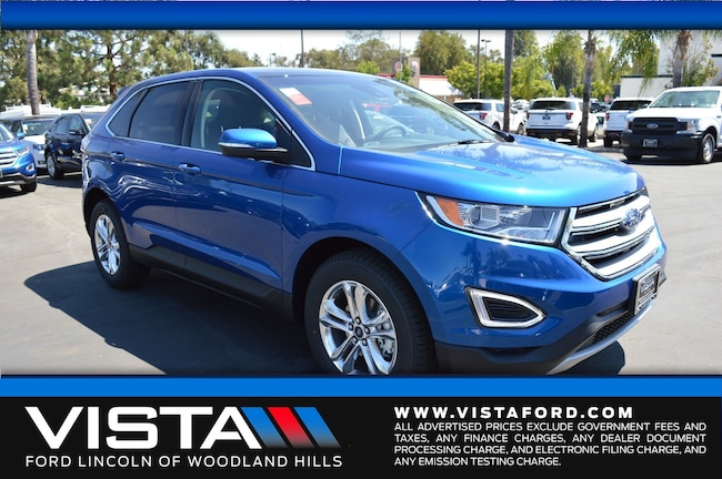 New 2018 Ford Edge SEL SUV in Woodland Hills, CA