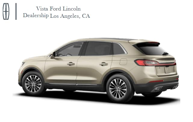 New Used Lincoln Dealership In Los Angeles Ca Vista Ford