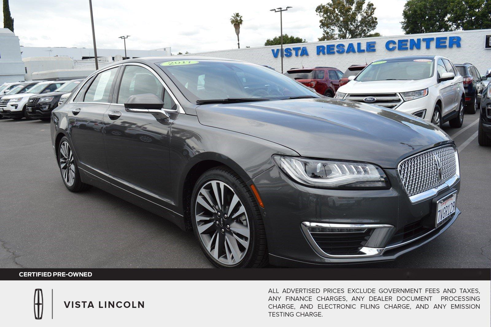 2017 Lincoln MKZ Hybrid Hybrid Select Sedan
