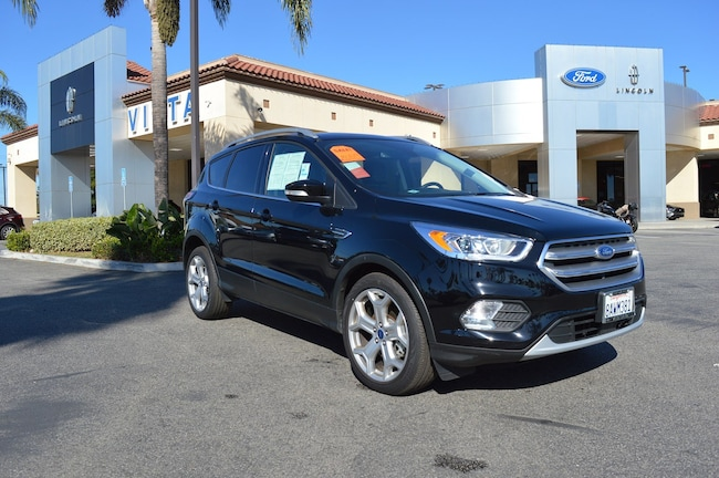 Used 2017 Ford Escape Titanium SUV Oxnard