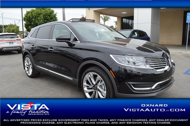 New 2018 Lincoln MKX Black Label SUV Oxnard