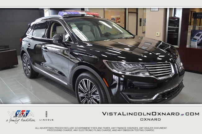 New 2017 Lincoln MKX Black Label SUV Oxnard