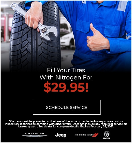 Fill Your Tires With Nitrogen