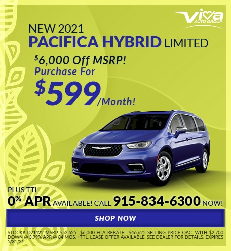 May | 2021 Pacifica Hybrid