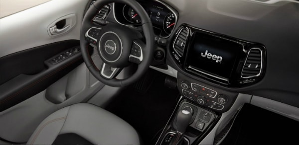 All-New 2017 Jeep Compass dashboard