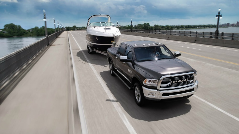 2017 RAM 2500 towing capacity