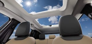 2017 Jeep Renegade sunroof