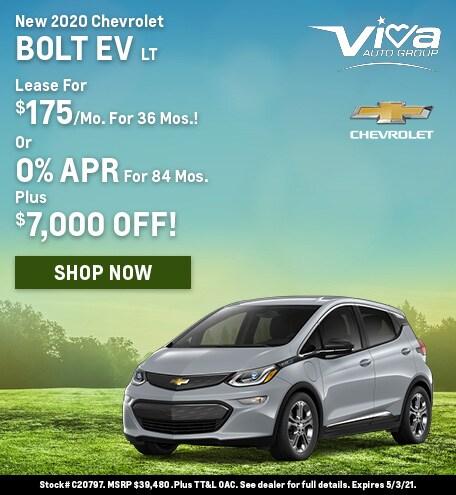 April   2020 Bolt EV