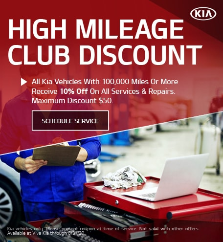 High Mileage Club Discount