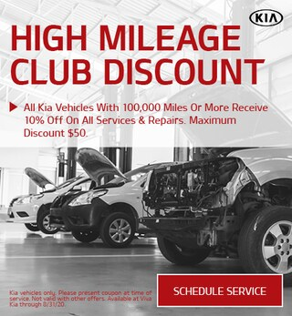 High Mileage Club Discount