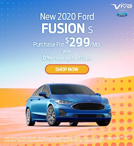 September | 2020 Ford Fusion