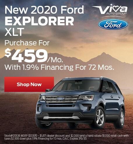June | 2020 Ford Explorer