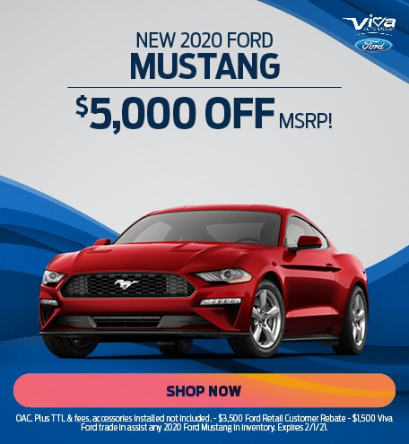 January | 2020 Ford Mustang