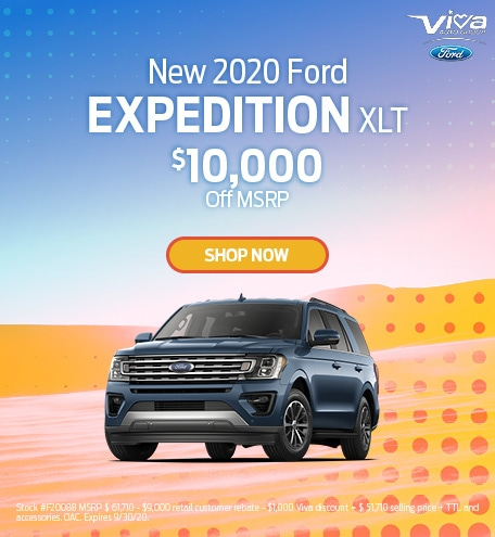 September | 2020 Ford Expedition