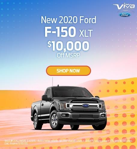 September | 2020 Ford F-150