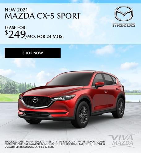 April | 2021 CX-5