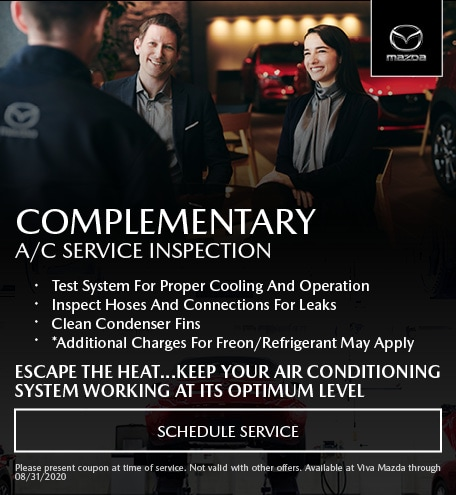 Complimentary A/C Service Inspection
