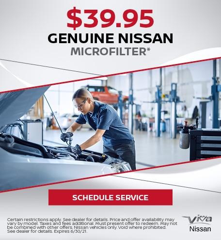 Genuine Nissan Microfilter