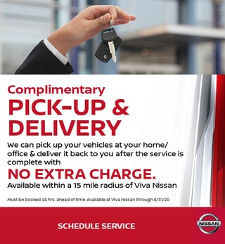 Complimentary Pick-Up & Delivery