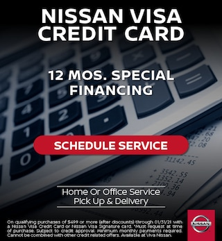 Nissan Service Financing