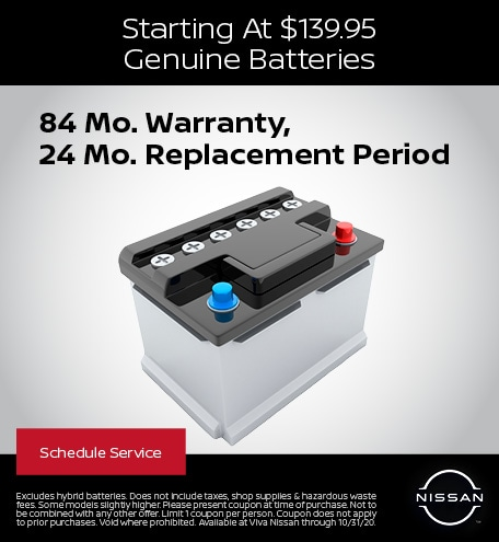 Genuine Nissan Batteries