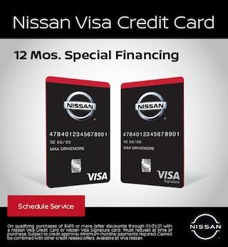 Nissan Visa Credit Card