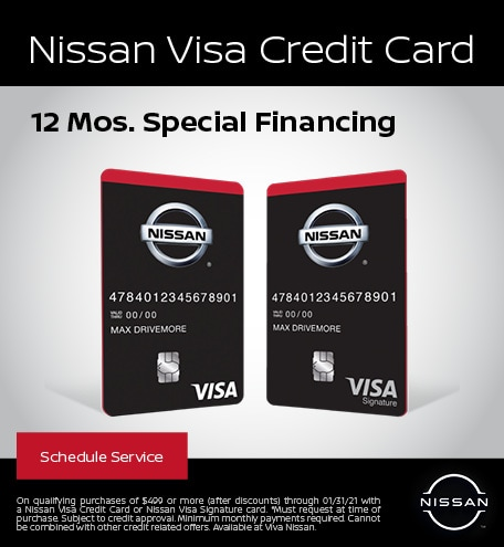 Nissan Visa Credit Card
