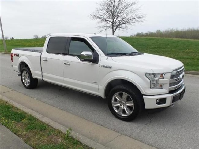 2015 Ford F-150 Platinum 4x4 SuperCrew Cab Styleside 5.5 ft. box 1