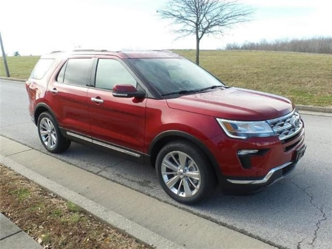 2019 Ford Explorer Limited Front-wheel Drive