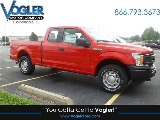 2018 Ford F-150 XL 4x4 SuperCab Styleside 6.5 ft. box 145 in. WB