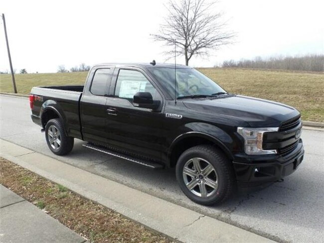 2019 Ford F-150 Lariat 4x4 SuperCab Styleside 6.5 ft. box 145 in.