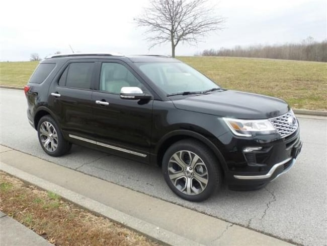 2019 Ford Explorer Platinum 4x4