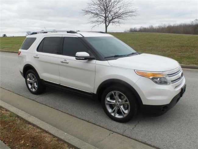 2015 Ford Explorer Limited Front-wheel Drive