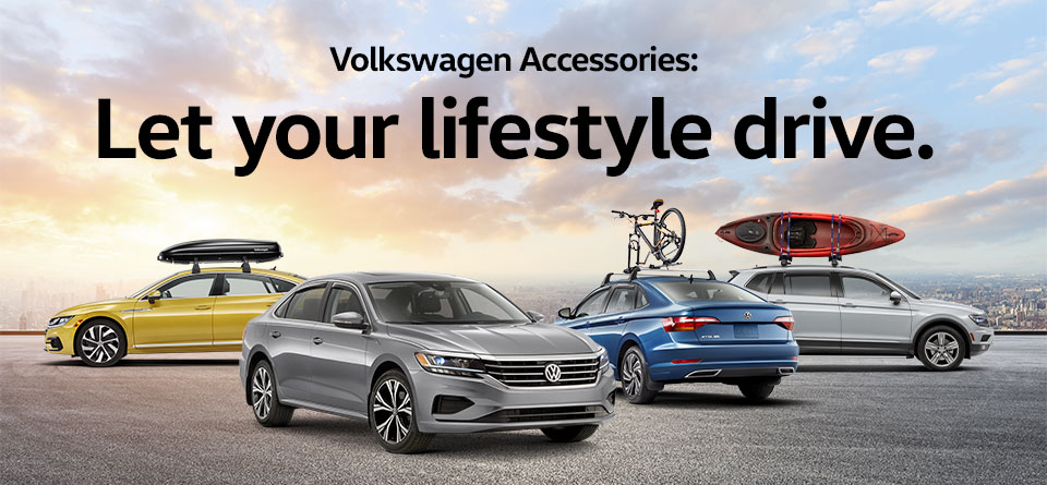 Volkswagen Accessories: Let your lifestyle drive