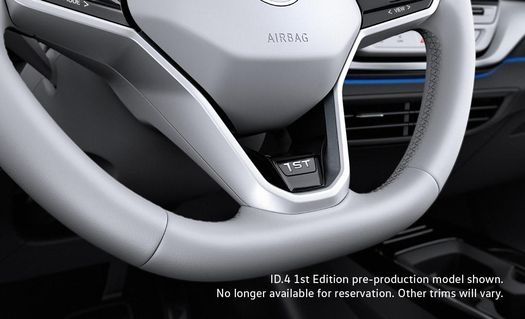 VW id.4 steering wheel