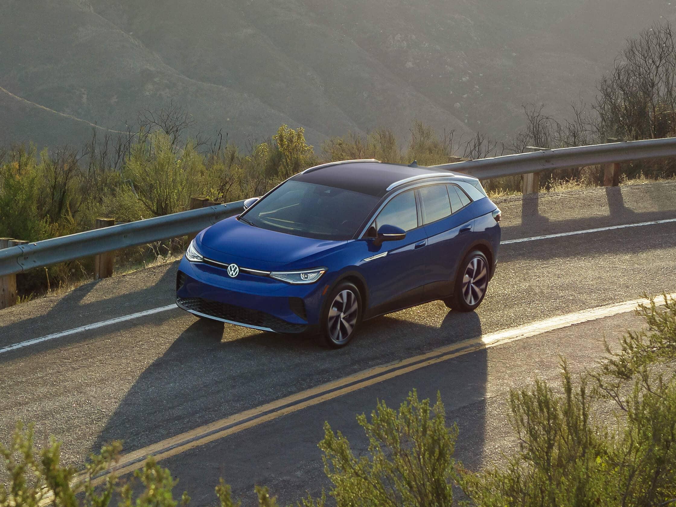 VW id.4 electric car