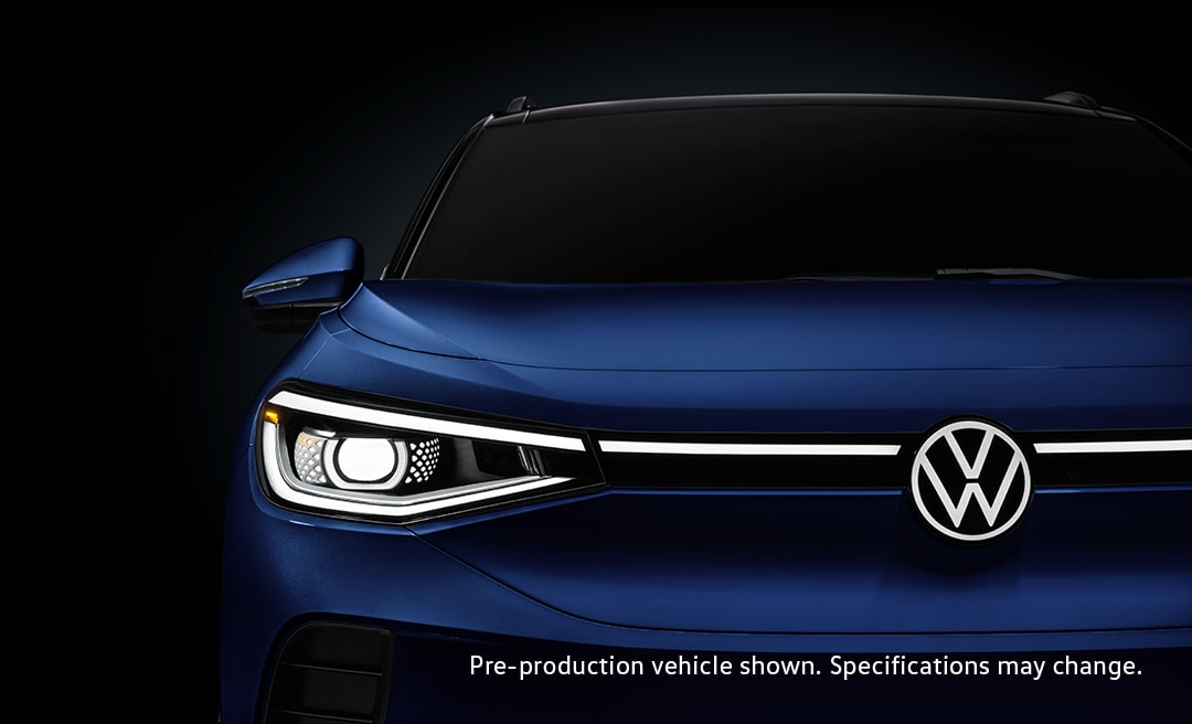front view of new VW id.4