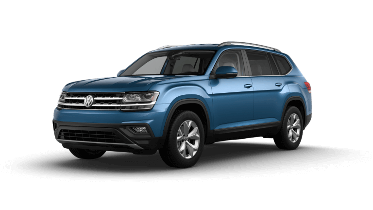 2020 Volkswagen Atlas SE - Pacific Blue