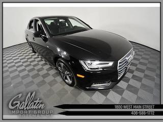 2018 Audi A4 Premium Plus Quattro Sedan