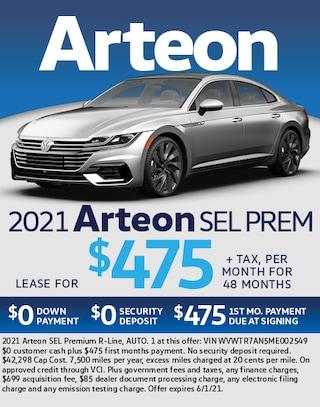 2021 Arteon SEL PREM