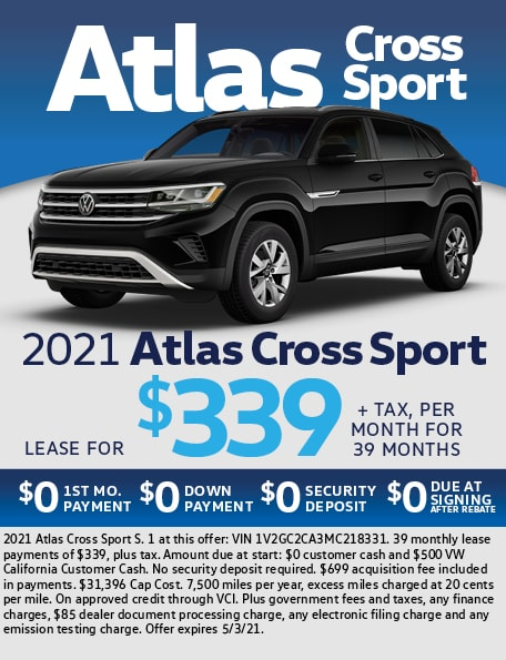 2021 Atlas Cross Sport