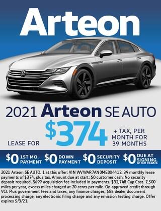 2021 Arteon SE Auto
