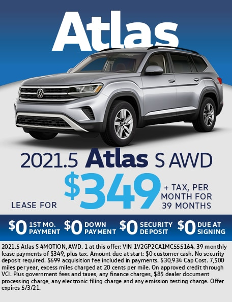 2021.5 Atlas S AWD