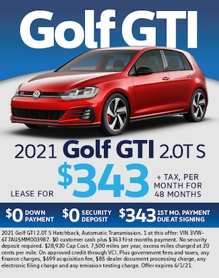 2021 Golf GTI 2.0T S